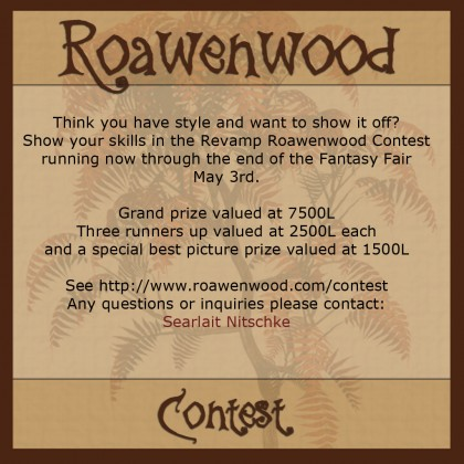 Revamp Roawenwood Contest