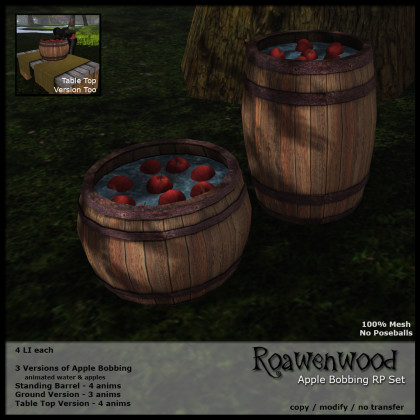 Apple Bobbing RP Set