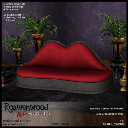 Roawenwood Diva May Care Sofa - SoI