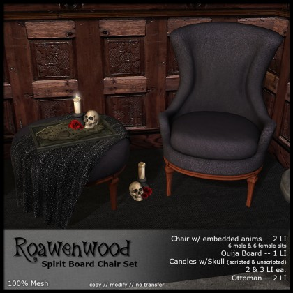 Spirit Board Chair Set