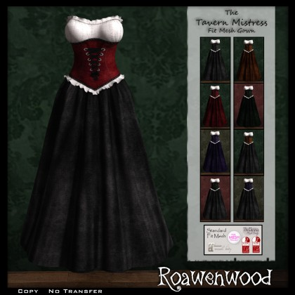 Tavern Mistress Gown